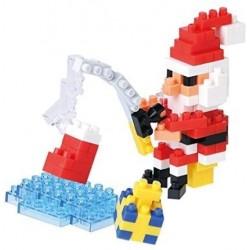 Der Weihnachtsmann beim Fischen NBC-157 NANOBLOCK der japanische...