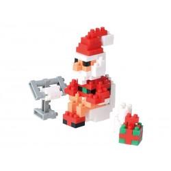 Père Noël dans la toilette...