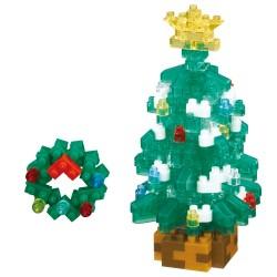 Arbre de Noël NBC-323 NANOBLOCK mini bloques de construction...