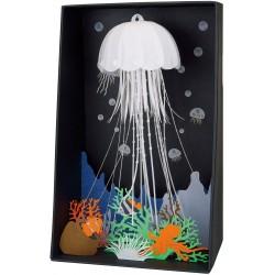 Unterwasserwelt mit Quallen PN-129 Paper Nano von Kawada