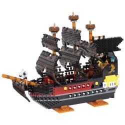 Navire pirate Édition Deluxe NB-050 NANOBLOCK, mini bloques de...