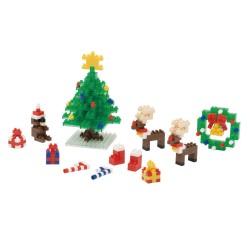 Weihnachtsset NBH-077 NANOBLOCK der japanische mini Baustein |...
