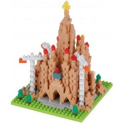 Sagrada Familia (en construction) NBH-211 NANOBLOCK mini bloques de...