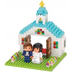 Wedding NBH-212 NANOBLOCK...