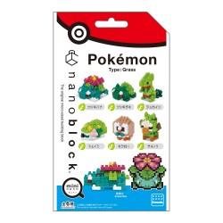 mininano type: plante (SURPRISE) NBMC-21 NANOBLOCK recontre Pokemon