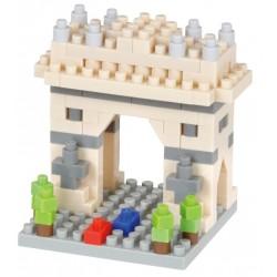 Arc de Triomphe de l'Étoile NBC-340 NANOBLOCK mini bloques de...