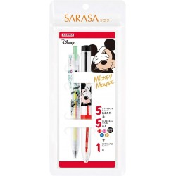 """Sarasa Select Disney """"Mickey Mouse"""" Set (nachfüllbar) SE-S5A20-MC..."""