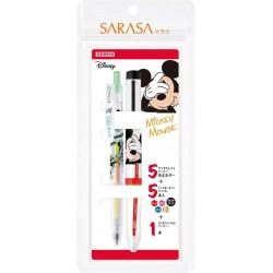 "Sarasa Select Disney set ""Mickey Mouse"" (rechargeable) SE-S5A20-MC..."