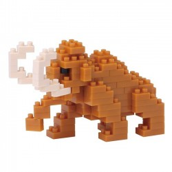 NANOBLOCK Mini series Mammoth NBC-186