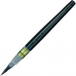 Stylo pinceau: pointe large, encre à colorant, rechargeable | XFL2B...