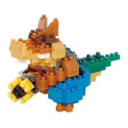 Dingodile NBCC-102 NANOBLOCK recontre Crash Bandicoot