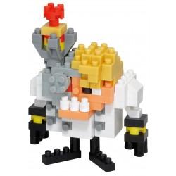 Doktor N. Gin NBCC-101 NANOBLOCK trifft Crash Bandicoot