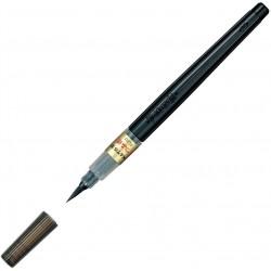 Brush Pen: Compacted Tip, Dye Ink, refillable | XFL2U by Pentel