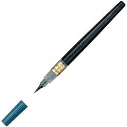 Brush Pen: Rounded Tip, Dye Ink, refillable | XFL2V by Pentel
