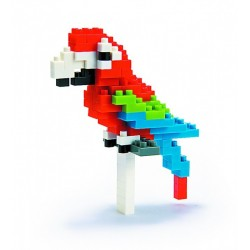 NANOBLOCK Mini series Red-and-green-Macaw NBC-034