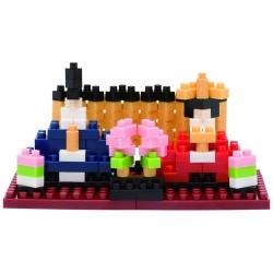 Hina Puppen NBHC-130 NANOBLOCK | Miniature series