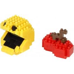Pac-Man et une cerise NBCC-105 NANOBLOCK rencontre Pac-Man