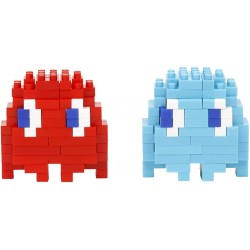 Blinky and Inky NBCC-106 NANOBLOCK meets Pac-Man