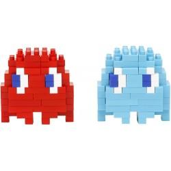 Blinky und Inky NBCC-106 NANOBLOCK trifft Pac-Man