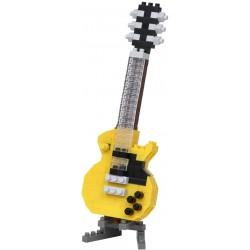 Electric Guitar Yellow NBC-347 NANOBLOCK the Japanese mini...