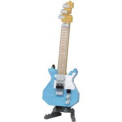 Electric Guitar Pastel Blue NBC-346 NANOBLOCK the Japanese mini...