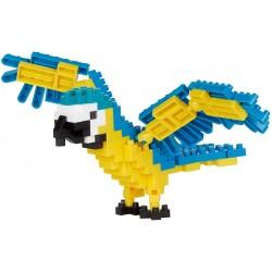 Blue-and-yellow Macaw NBC-343 NANOBLOCK the Japanese mini...