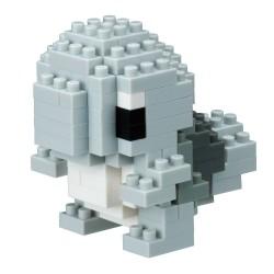 nanoblock Pokemon monochrome Squirtle NBPM-017