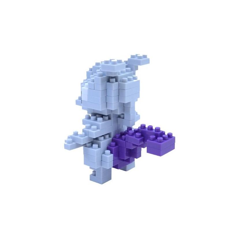 nanoblock,Micro Bausteine,Kawada Japan,Pokémon,Mewtwo,Mewtu,Puzzle NBPM-006