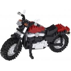 Motocyclette NBH-219 NANOBLOCK mini bloques de construction...