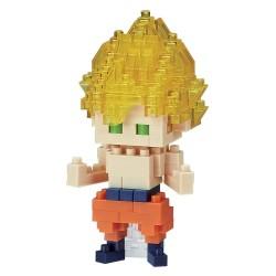 Son Goku Super Saiyajin NBDB-007 NANOBLOCK the Japanese mini...
