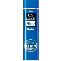 blue color ø0.5mm - Set of 20 Leads for Mechanical Pencils - AIN...