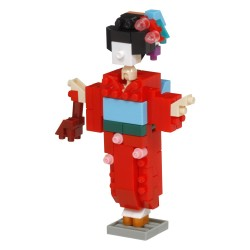 Une fille au kimono NBC-358 NANOBLOCK | Award series