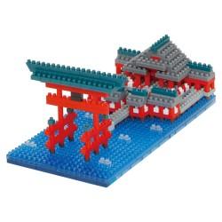 Itsukushima Shrine NBH-222 NANOBLOCK | Sights to See series