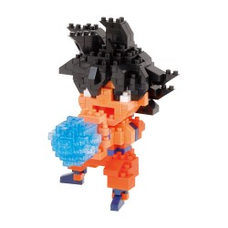 Son Goku (l'attaque kamekameha) CN-38 NANOBLOCK | CHARANANO