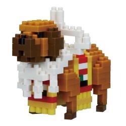 nanoblock mini Series NBC-237 Hund