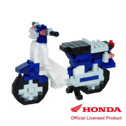 Honda Super Cub 50 blau NBC-356 NANOBLOCK der japanische mini...