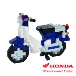 Honda Super Cub 50 bleu NBC-356 NANOBLOCK | Miniature series