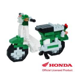 Honda Super Cub 50 grün NBC-357 NANOBLOCK der japanische mini...