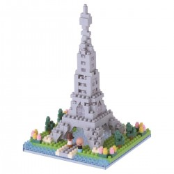 NANOBLOCK Sights to See series: Banks of the Seine in Paris NBH-097