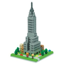 NANOBLOCK Sights to See series: Chrysler Building NBH-139