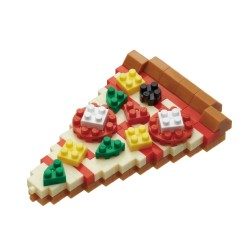 NANOBLOCK Mini series Pizza NBC-244