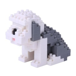 NANOBLOCK Mini series Old English Sheepdog NBC-169