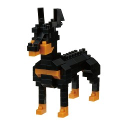 NANOBLOCK Mini series Doberman Dog Breed NBC-255