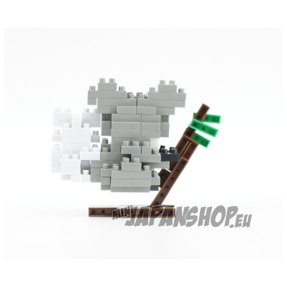 Multicoloured Nanoblock NBC-257-Koala NBC-257